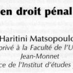 la-victime-en-droit-pénal-des-affaires Hartini Matsoupoulo